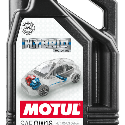 Motul 4L OEM Synthetic Engine Oil Hybrid 0W16 4X4L API SN