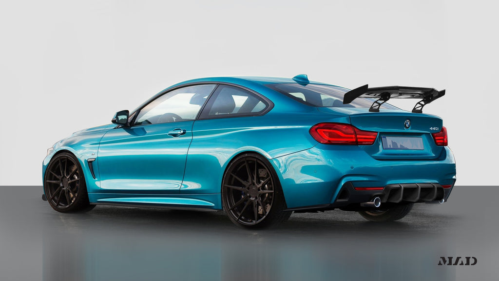 Morph Auto Design [MAD] BMW 4 Series F32 Carbon Fiber Diffuser