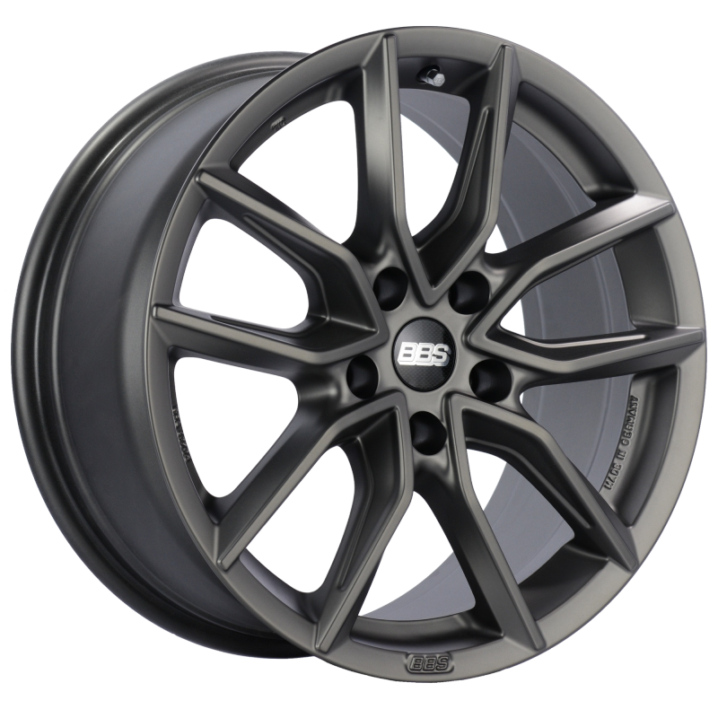 BBS XA 18x8.5 5x112 ET35 Satin Platinum Wheel -82mm PFS/Clip Required