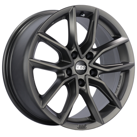 BBS XA 19x8.5 5x120 ET32 Satin Platinum Wheel -82mm PFS/Clip Required