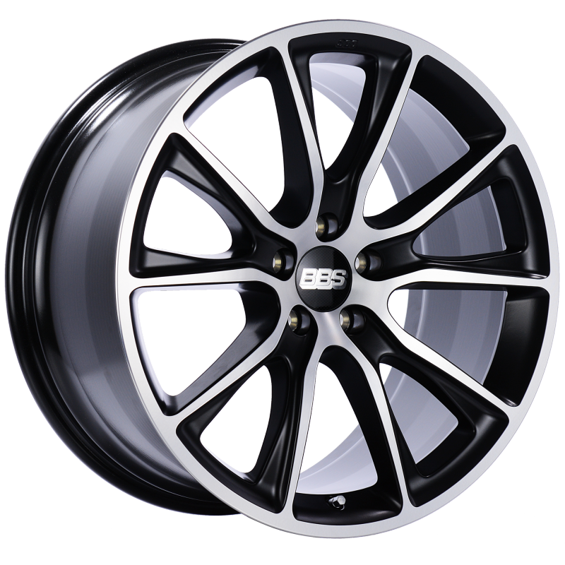 BBS SV 22x10.5 5x130 ET50 CB71.6 Satin Black Diamond Cut Face Wheel