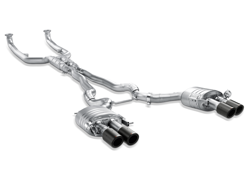 Akrapovic 13-17 BMW M6 Gran Coupe (F06) Evolution Line Cat Back (Titanium) (Req. Tips)