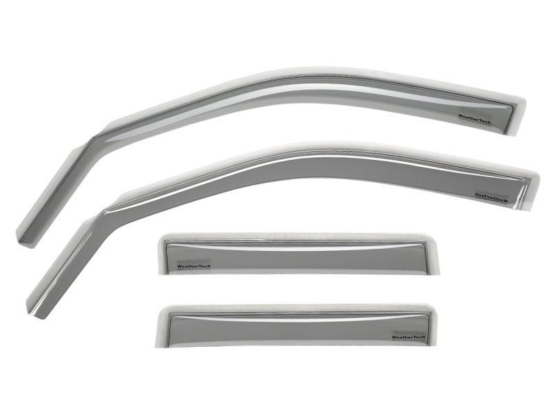 WeatherTech 2018+ Audi Q5/SQ5 Front and Rear Side Window Deflectors - Light Smoke