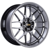 BBS RG-R 18x10 5x120 ET25 Diamond Black Wheel -82mm PFS/Clip Required