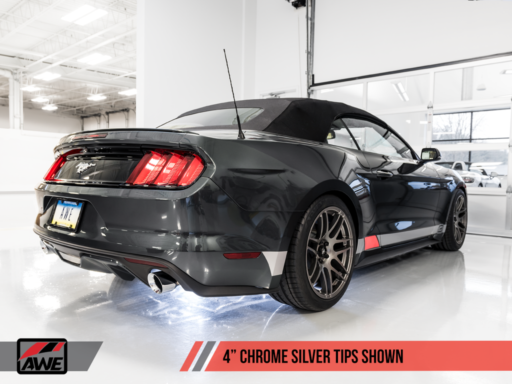 AWE EXHAUST SUITE FOR S550 MUSTANG ECOBOOST