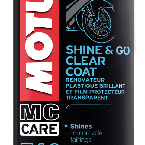 Motul 13oz Cleaners SHINE & GO - Silicone Clean (13 oz)