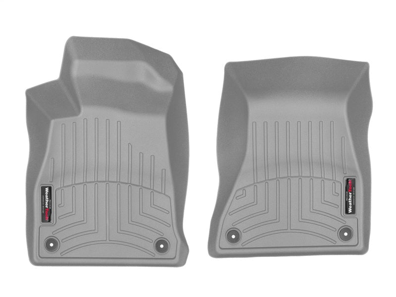 WeatherTech 2017+ Audi A4 (Sedan) Front FloorLiner - Grey