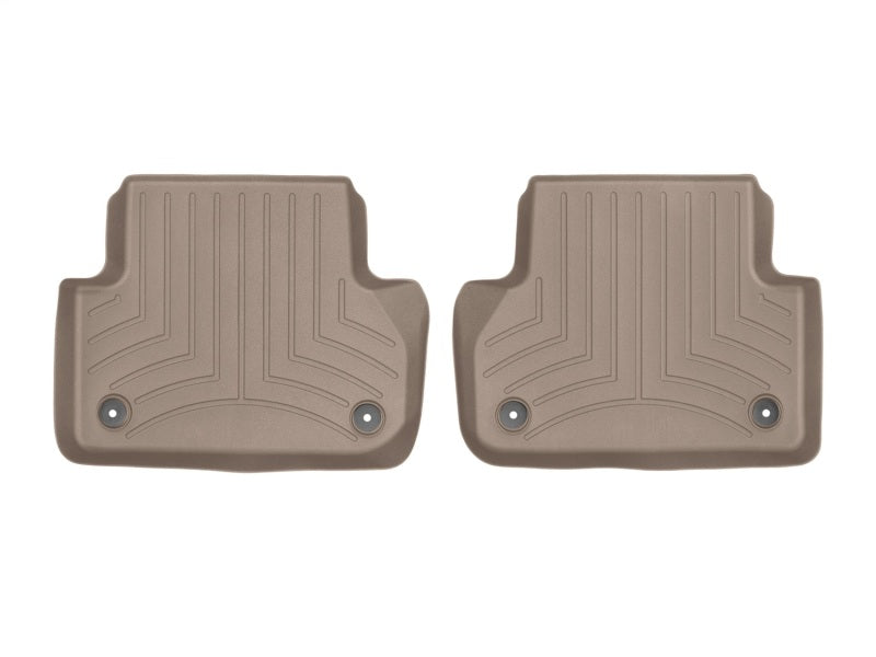 WeatherTech 2017+ Audi A4 (Sedan) Rear FloorLiner - Tan