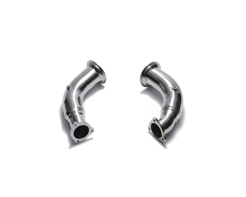 ARMYTRIX Sport Cat-Pipe w/200 CPSI Catalytic Converters Audi RS4 B9 | RS5 B9 2.9 V6 Turbo 17-20