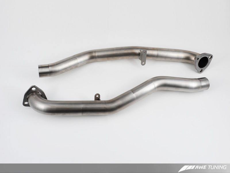 AWE Performance Cross Over Pipes for Porsche 997.2