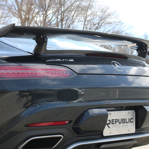 Aero Republic GTR Style Wing For Mercedes Benz AMG GT GTS