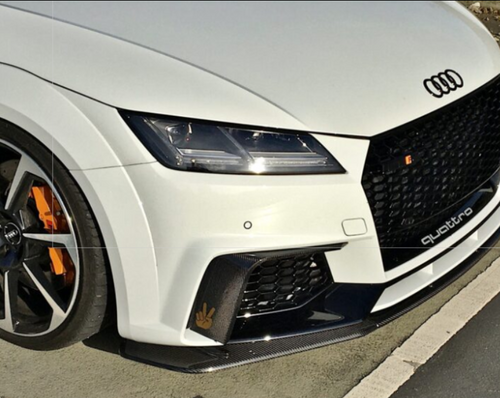 Automotive Passion AUDI TTRS 8S DRY CARBON FIBRE FRONT SPLITTER PRE FL