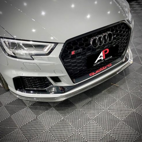 Automotive Passion AUDI RS3 8V Dry Carbon Fiber Front Splitter