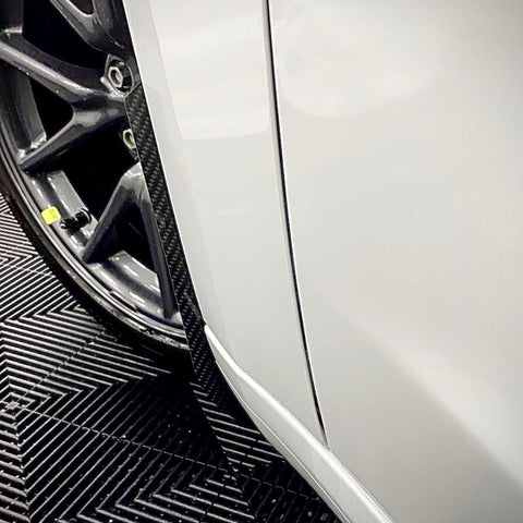 Automotive Passion Tesla Model 3 Carbon Fiber Arch Guards Mud Flaps