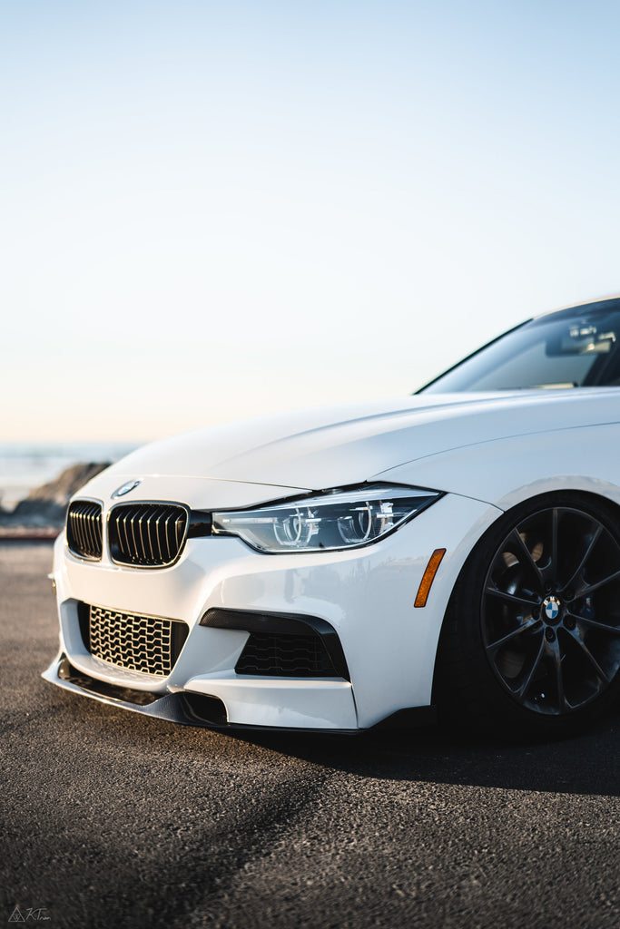 Morph Auto Design [MAD] BMW 3 Series F30 Carbon Fiber Upper Valences