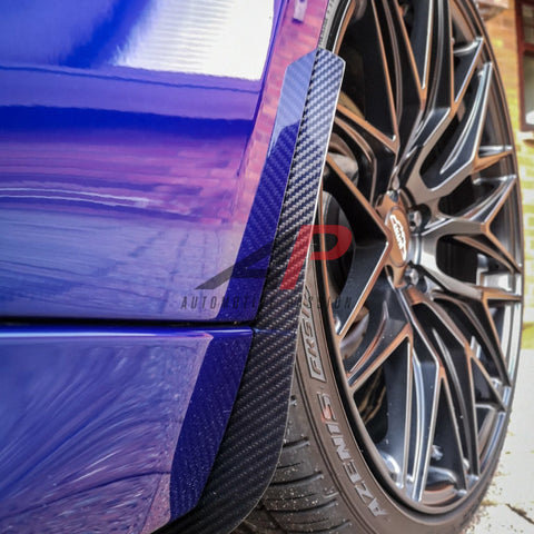 Automotive Passion BMW F80 M3/M4 Front & Rear Carbon Fiber Arch Guards Mud Flaps PACKAGE