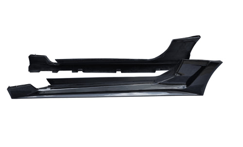 CMST Chevrolet Camaro 2016-2020 Partial Carbon Fiber Side Skirts