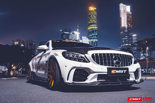 CMST Mercedes-Benz C Coupe 2019-ON Carbon Fiber Wide Body Kit