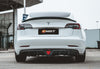 Best Seller !!! CMST Tesla Model 3 Carbon Fiber Rear Diffuser Ver.2
