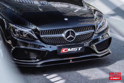 CMST Tuning Carbon Fiber Full Body Kit For Mercedes Benz 2015-2018 W205 Sedan with Sport Package