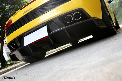 CMST Tuning Carbon Fiber Rear Diffuser for Lamborghini Gallardo 2009-2014