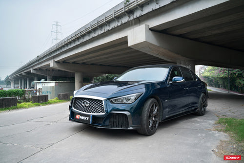 CMST Infiniti Q50 to Project Black S Concept Full Body Kit