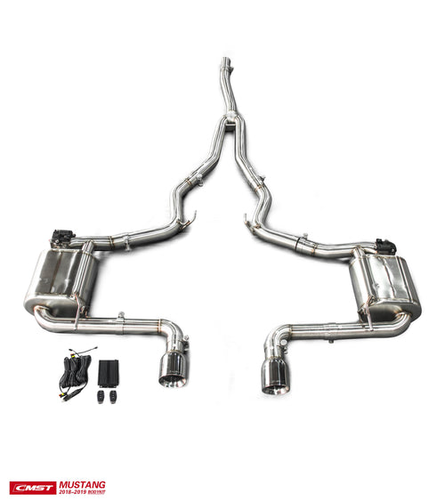 CMST Ford Mustang S550 2.3 Ecoboost 2015-2020 Stainless Steel Catback Valvetronic Exhaust System