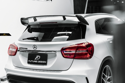 Future Design Carbon 2014-2019 X156 GLA-45 GLA-250 ABS Rear Roof Spoiler