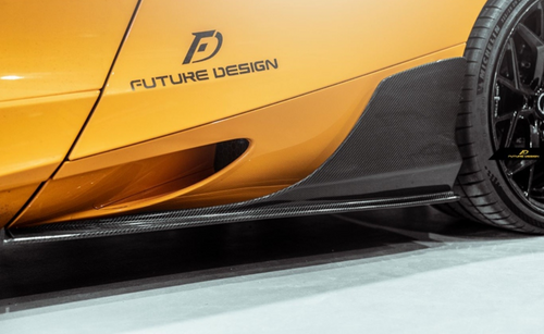 Future Design Carbon McLaren 720S Carbon Fiber Side Skirts