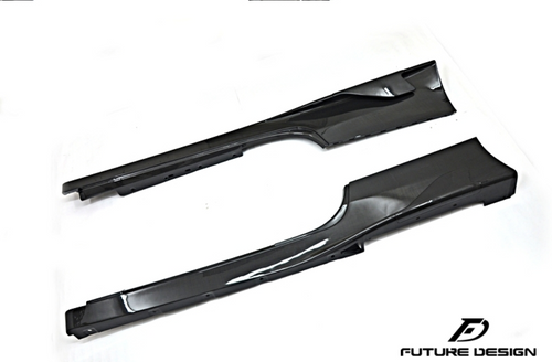 Future Design Carbon Ferrari 458 Carbon Fiber Side Skirts