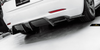 Future Design Tesla Model 3 Carbon Fiber Rear Diffuser