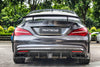 Paktechz C117 2014-2019 CLA-250 CLA-45 AMG Carbon Fiber Rear Diffuser (incl. F1 Light)
