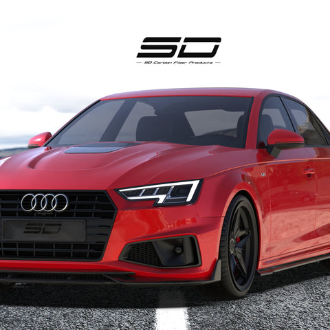SD Carbon Carbon Fiber Full Body Kit For Audi A4 S-Line & S4 2020-ON B9.5