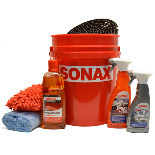 SONAX Bucket with Grit Guard Insert