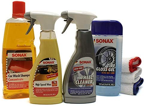 SONAX Exterior Car Wash Kit
