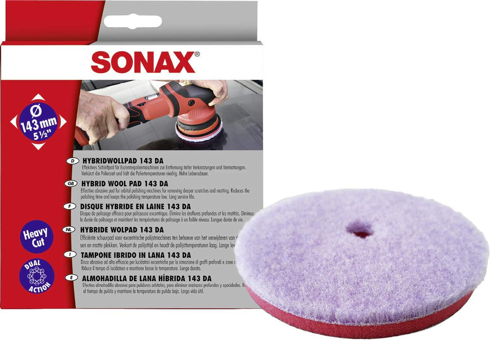 "SONAX Hybrid Wool Pad 143 DA  143 mm (5.5"")"