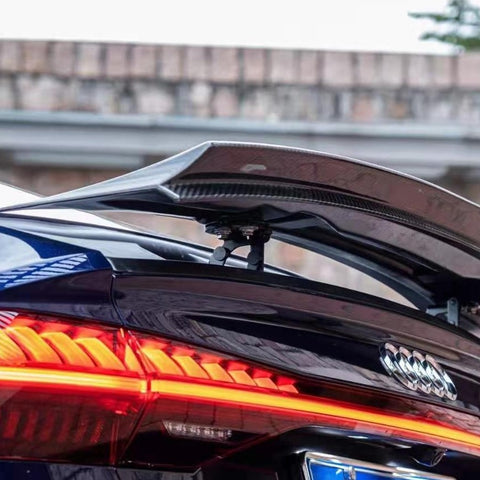 TAKD Carbon Dry Carbon Fiber Rear Spoiler for Audi A7 S-Line & S7 C8 2018-ON