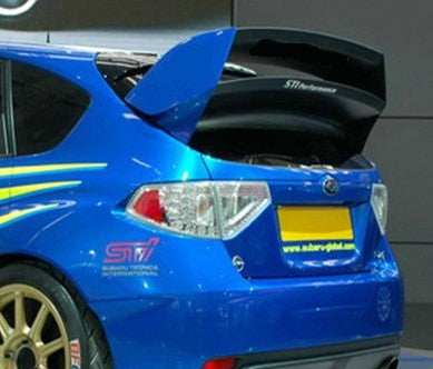 USCC Racing Carbon Fiber Rally Wing 2008-2014 Subaru WRX/STI Hatchback Only