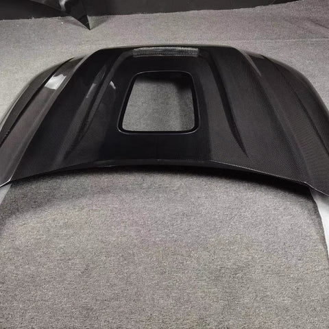 SD Carbon DRY Carbon Fiber Hood Bonnet For Audi A4 S4 2019-ON B9.5