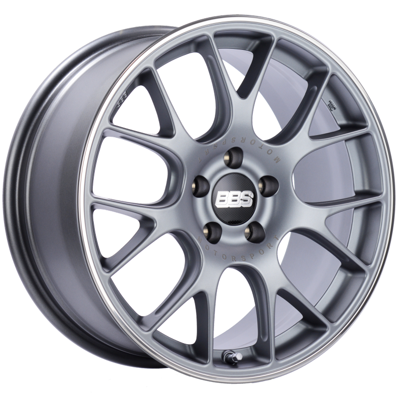BBS CH-R 18x8.5 5x112 ET47 Brilliant Silver Polished Rim Protector Wheel -82mm PFS/Clip Required