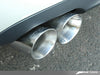 AWE Track Edition Exhaust for Audi B7 S4 - Polished Silver Tips