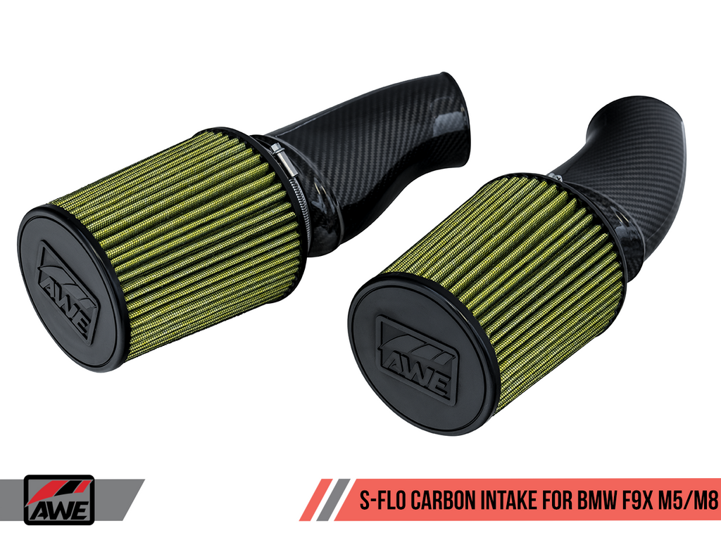 AWE S-FLO Carbon Intake - with Covers - for BMW F9X M5 / M8
