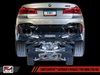 AWE SwitchPath? Axle-Back Exhaust for BMW F90 M5 - Chrome Silver Tips