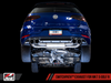 AWE Track Edition Exhaust for MK7.5 Golf R - Chrome Silver 102mm Tips