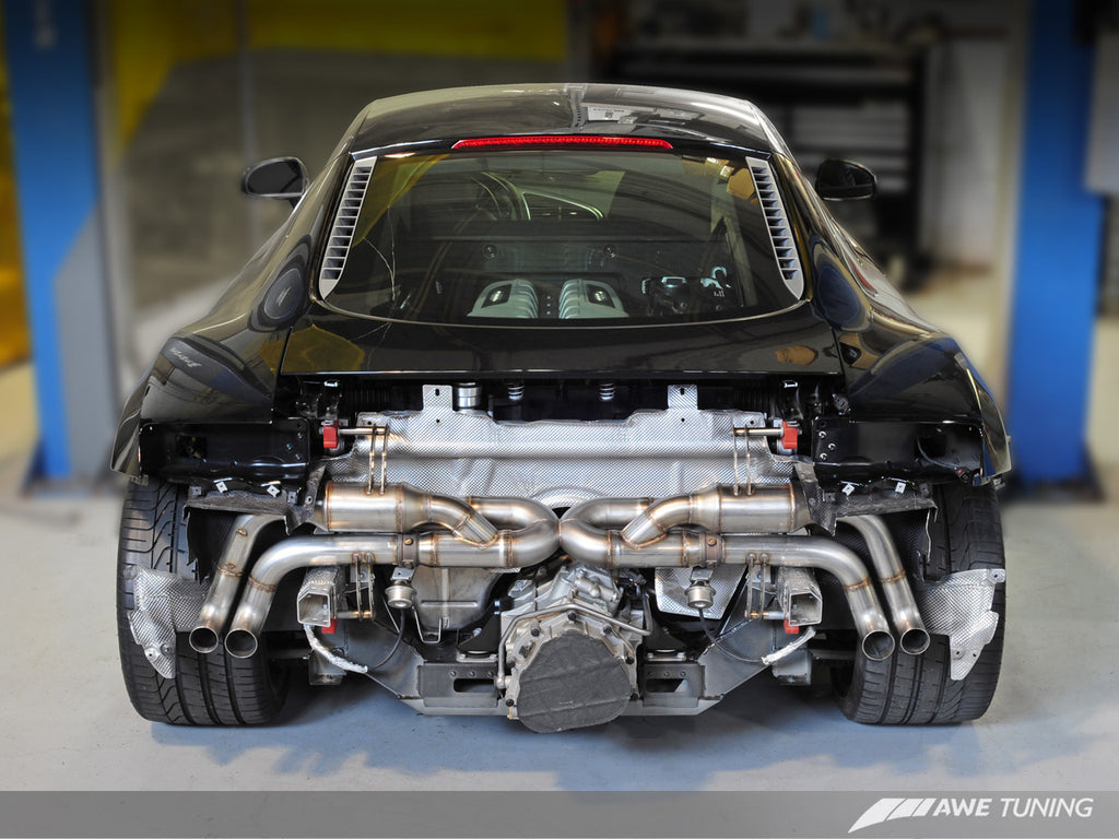 AWE SwitchPath? Exhaust for Audi R8 V10 Spyder