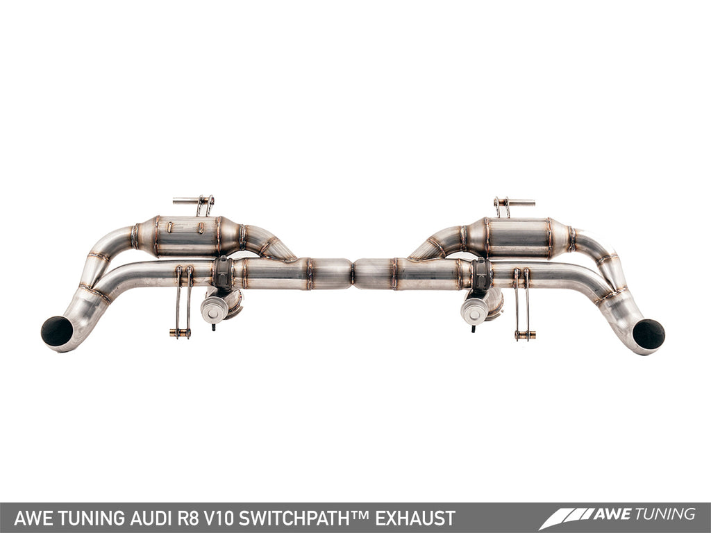 AWE SwitchPath? Exhaust for Audi R8 V10 Spyder (2014+)