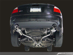 AWE Track Edition Exhaust for B6 S4 - Diamond Black Tips