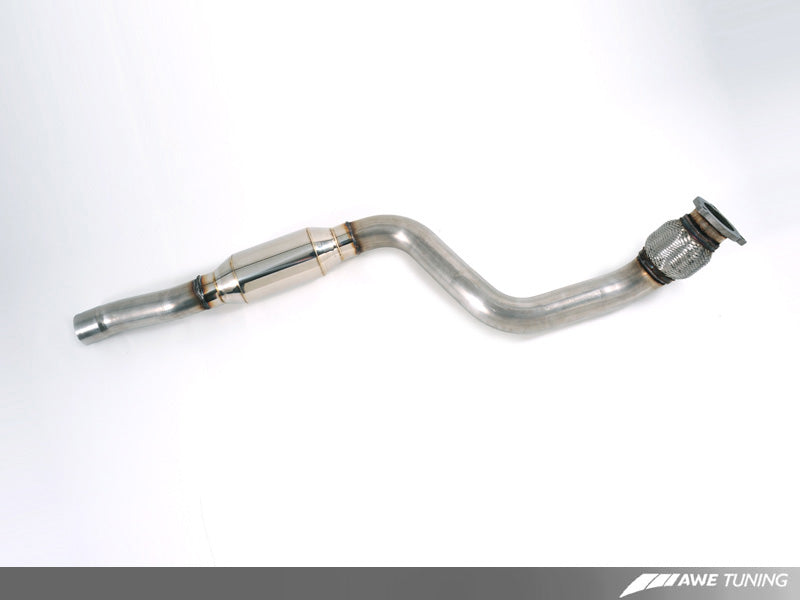 AWE Touring Edition Exhaust for B8 A4 2.0T - Quad Tip, Polished Silver Tips