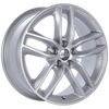 BBS SX 19x8.5 5x114.3 ET45 Sport Silver Wheel -82mm PFS/Clip Required