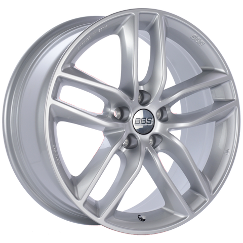BBS SX 18x8 5x120 ET30 Sport Silver Wheel -82mm PFS/Clip Required